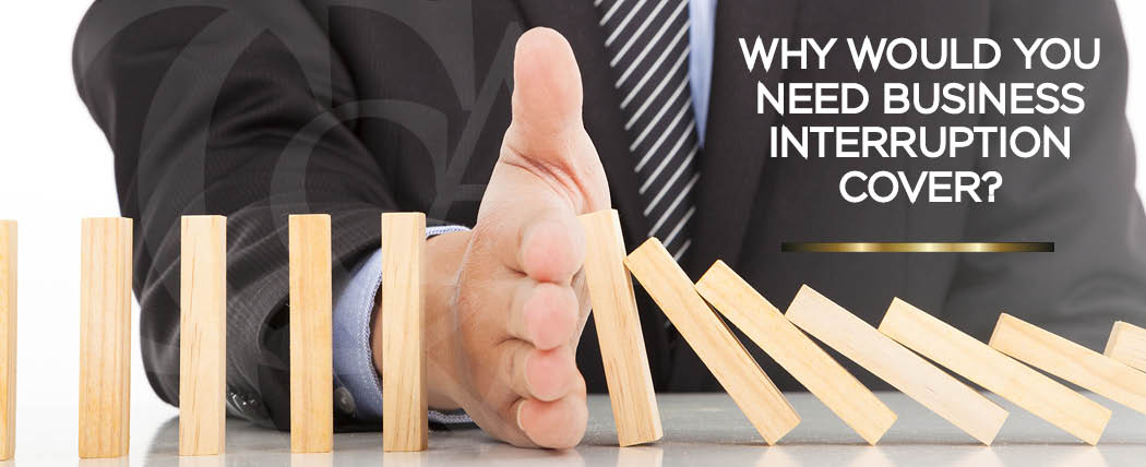 What is business interruption cover
